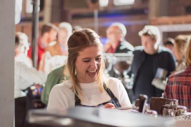 Mieke Boden tijdens ACF 2017
